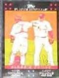 2007 Topps Classic Combo Molina/Pujols #329 Cardinals