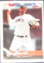 2007 Fleer Matt Morris #68 Giants