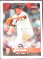 2007 Fleer Matt Cain #64 Giants