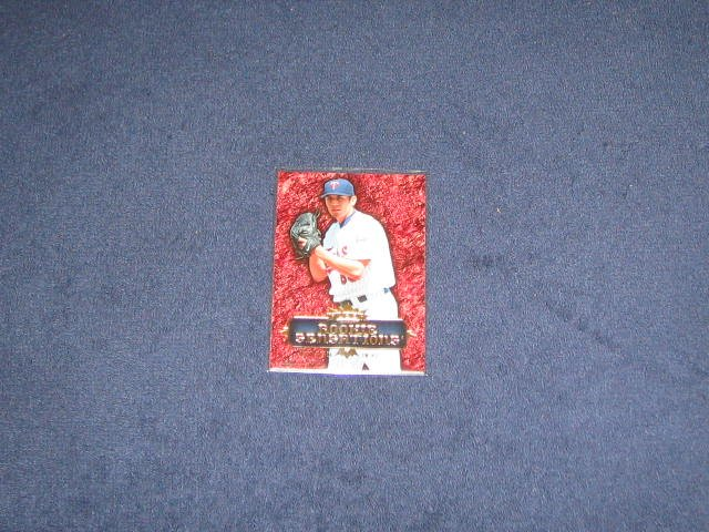 2007 Fleer Rookie Sensations Matt Garza #RS-RG Twins