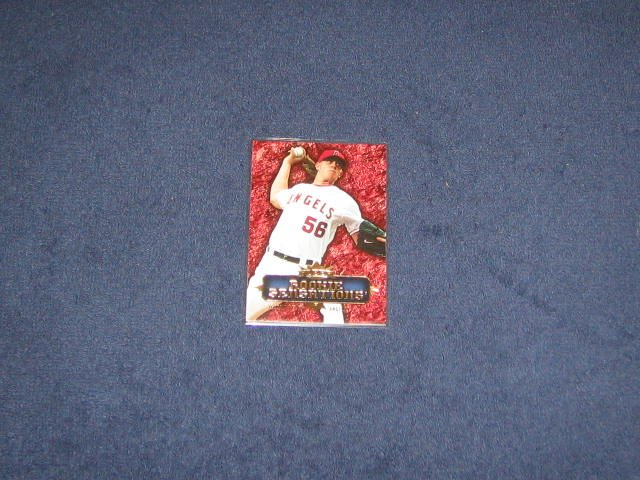 2007 Fleer Rookie Sensations Jered Weaver #RS-JW Angels