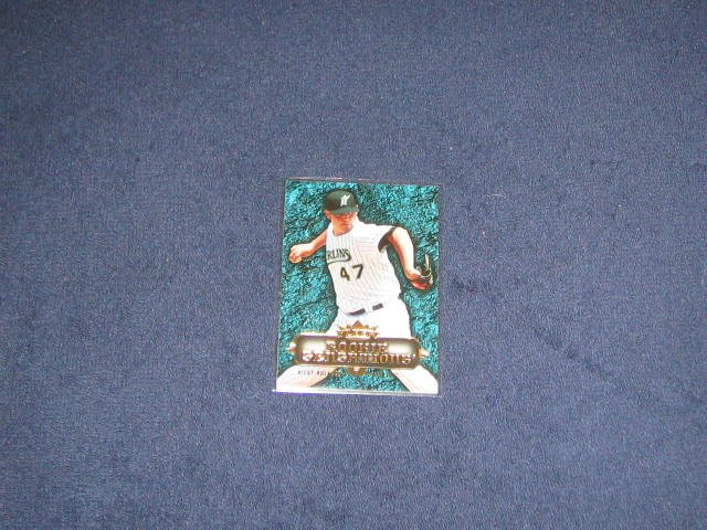 2007 Fleer Rookie Sensations Ricky Nolasco #RS-RN