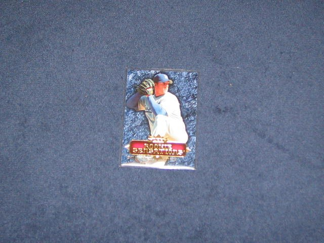 2007 Fleer Rookie Sensations Chad Billingsley #RS-CB