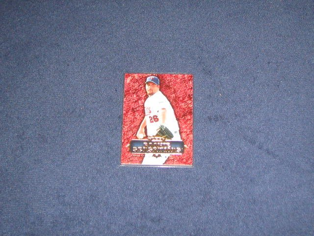 2007 Fleer Rookie Sensations Boof Bonser #RS-BB Twins
