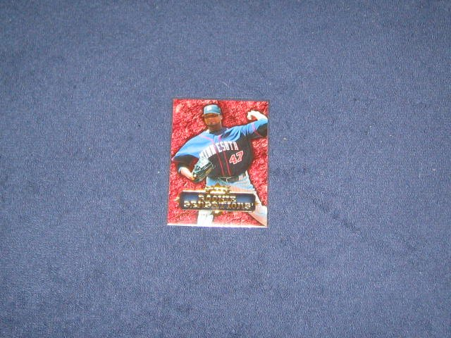 2007 Fleer Rookie Sensations Francisco Liriano #RS-FL