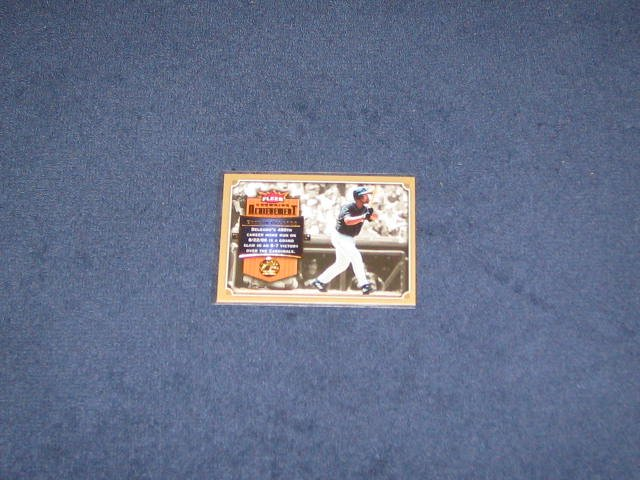2007 Fleer Crowning Achievement Carlos Delgado #CA-CD