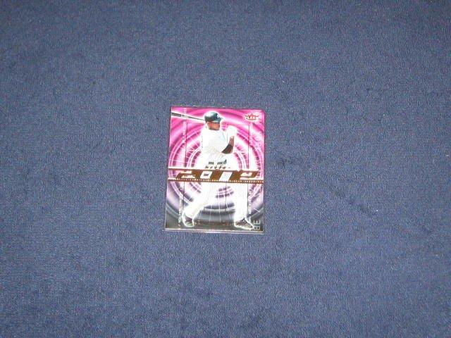 2007 Fleer In the Zone Alex Rodriguez #IZ-AR Yankees