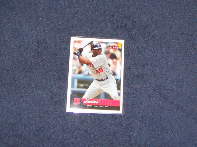 2007 Fleer Torri Hunter #145 Twins