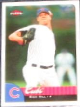 2007 Fleer Rich Hill #272 Cubs