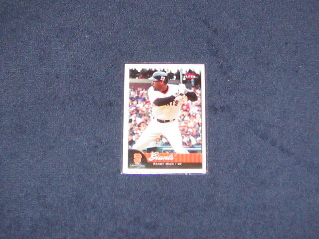 2007 Fleer Randy Winn #71 Giants
