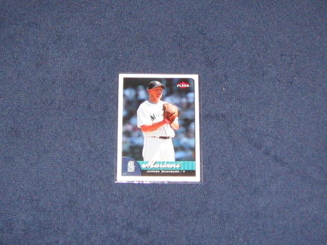 2007 Fleer Jarrod Washburn #59 Mariners
