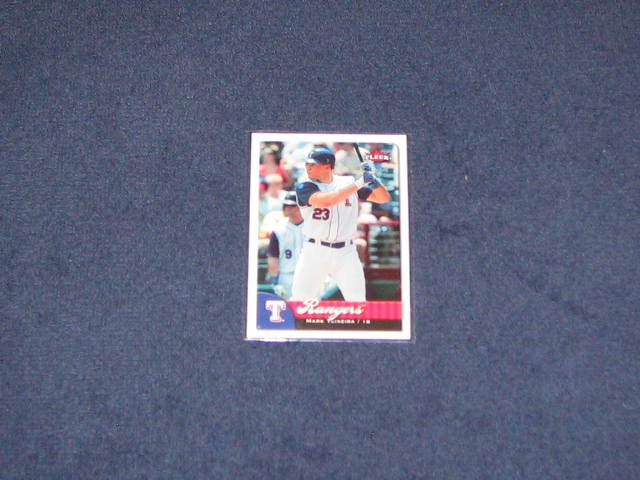 2007 Fleer Mark Teixeira #26 Rangers