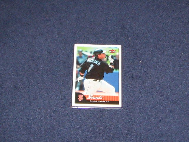2007 Fleer Bengie Molina #18 Giants