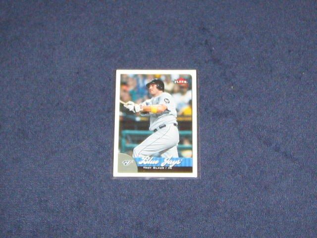 2007 Fleer Troy Glaus #17 Blue Jays