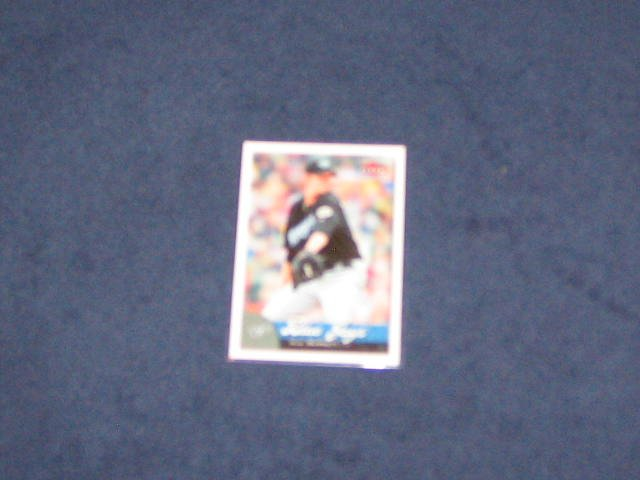 2007 Fleer A.J.Burnett #15 Blue Jays