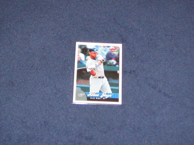 2007 Fleer Alex Rios #12 Blue Jays
