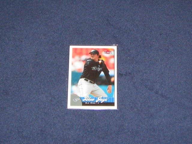 2007 Fleer B.J. Ryan #11 Blue Jays