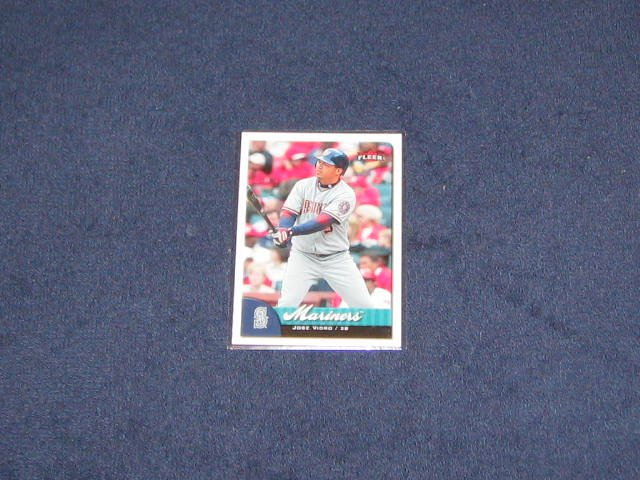 2007 Fleer Jose Vidro #8 Mariners