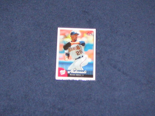 2007 Fleer Ramon Ortiz #5 Nationals