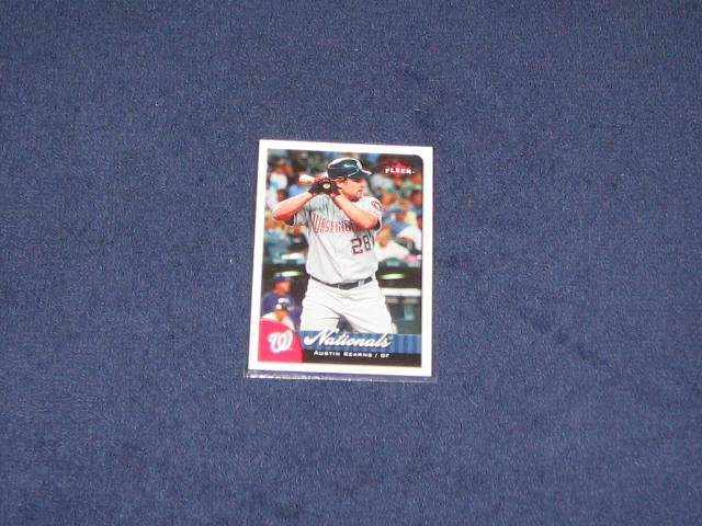 2007 Fleer Austin Kearns #4 Nationals
