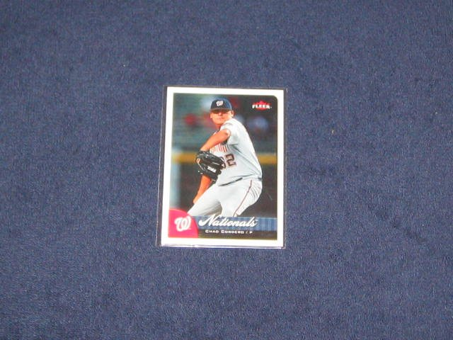 2007 Fleer Chad Cordero #1 Nationals