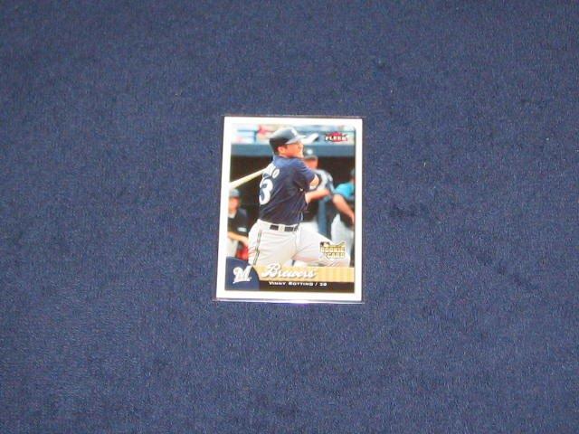 2007 Fleer Rookie Vinny Rottino #334 Brewers