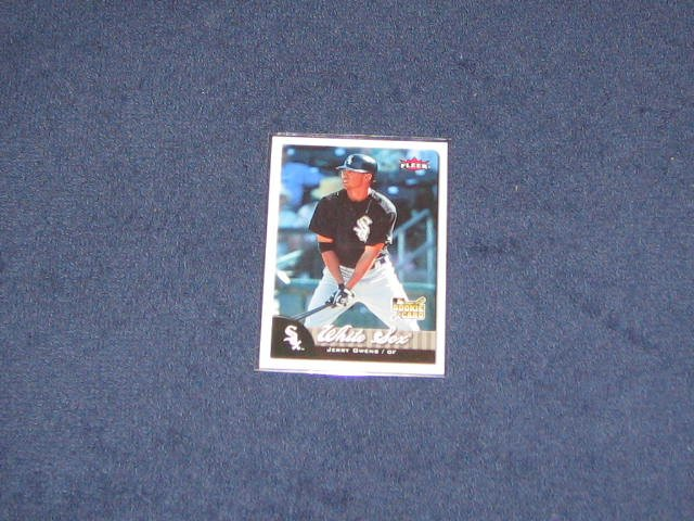 2007 Fleer Rookie Jerry Owens #333 White Sox