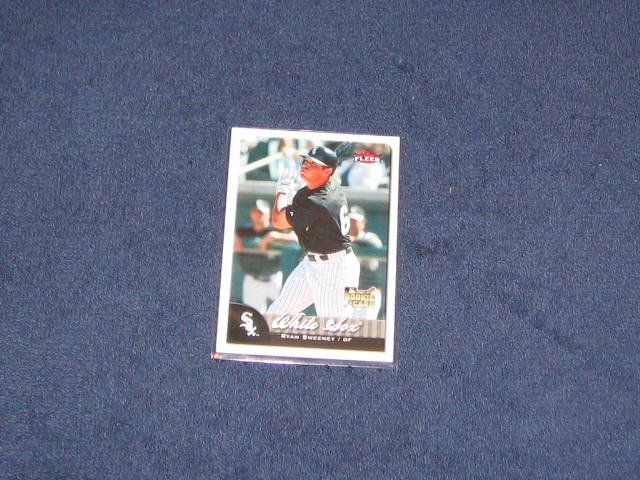 2007 Fleer Rookie Ryan Sweeney #331 White Sox