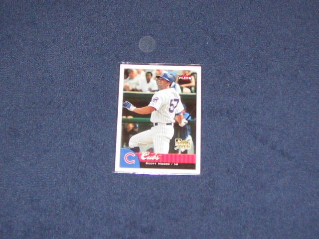2007 Fleer Rookie Scott Moore #329 Cubs