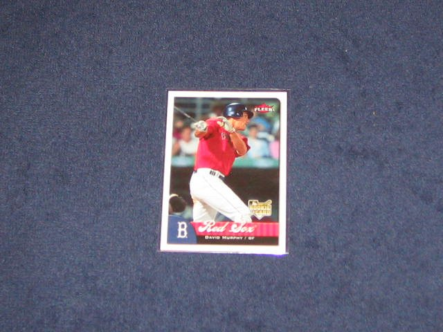 2007 Fleer Rookie David Murphy #326 Red Sox