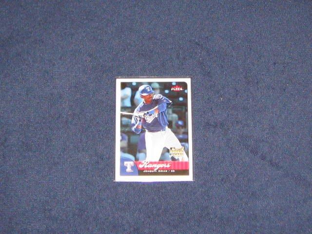 2007 Fleer Rookie Joaquin Arias #369 Rangers