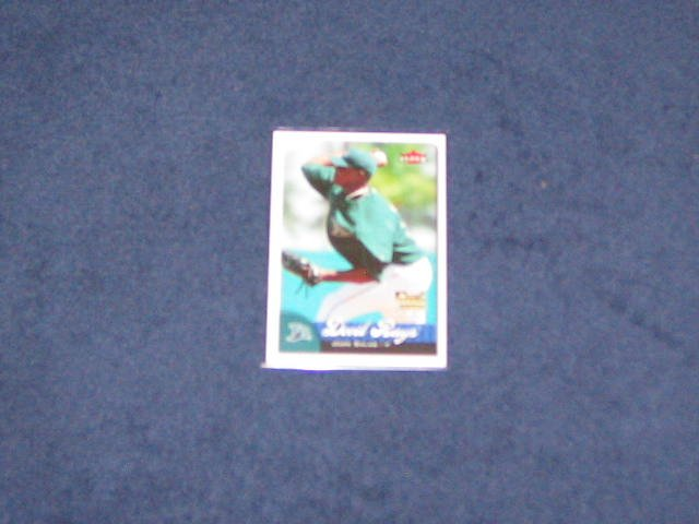 2007 Fleer Rookie Juan Salas #366 Devil Rays