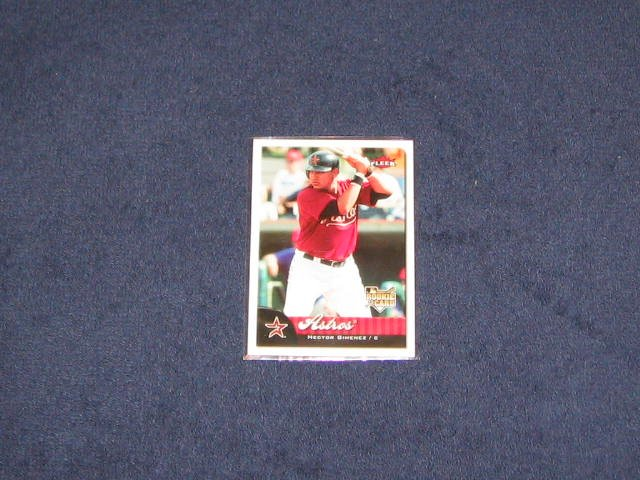 2007 Fleer Rookie Hector Gimenez #357 Astros