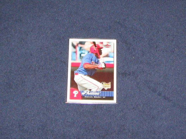 2007 Fleer Rookie Michael Bourn #353 Phillies