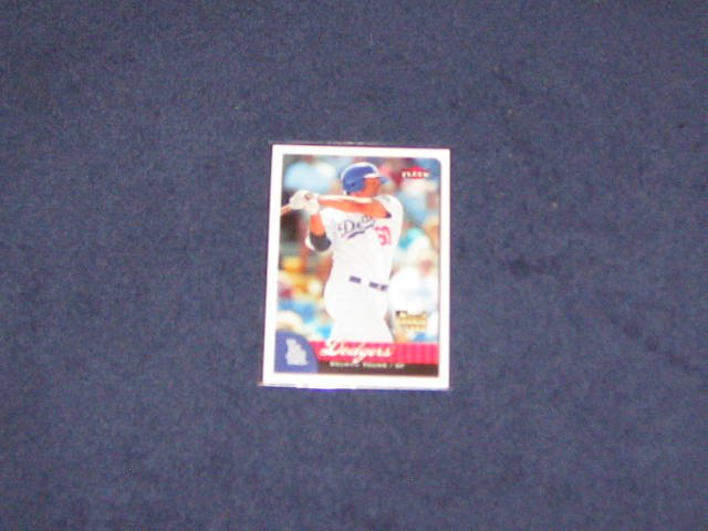 2007 Fleer Rookie Delwyn Young #348 Dodgers