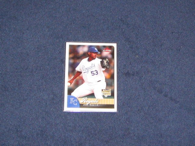 2007 Fleer Rookie Jose Diaz #347 Royals