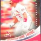 2007 UD First Edition Momentum Swing Albert Pujols