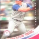 2007 UD First Edition Momentum Swing Mark Teixeira