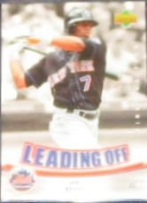 2007 UD First Edition Leading Off Jose Reyes #LO-JR