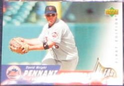 2007 UD First Edition Pennant Chasers David Wright