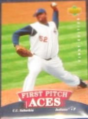 2007 UD First Edition First Pitch Aces C.C. Sabathia