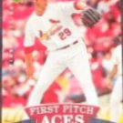2007 UD First Edition First Pitch Aces Chris Carpenter