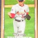 2007 UD First Edition Jeff Weaver #291 Cardinals