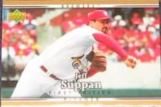 2007 UD First Edition Jeff Suppan #290 Brewers