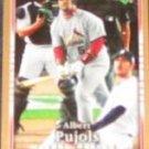 2007 UD First Edition Albert Pujols #285 Cardinals