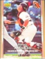 2007 UD First Edition Eliezer Alfonzo #279 Giants
