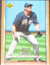 2007 UD First Edition Geoff Blum #272 Padres