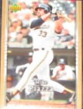 2007 UD First Edition Mike Piazza #270 Athletics