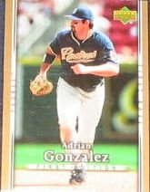 2007 UD First Edition Adrian Gonzalez #268 Padres