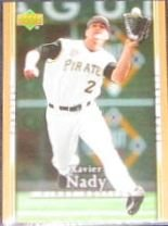 2007 UD First Edition Xavier Nady #260 Pirates